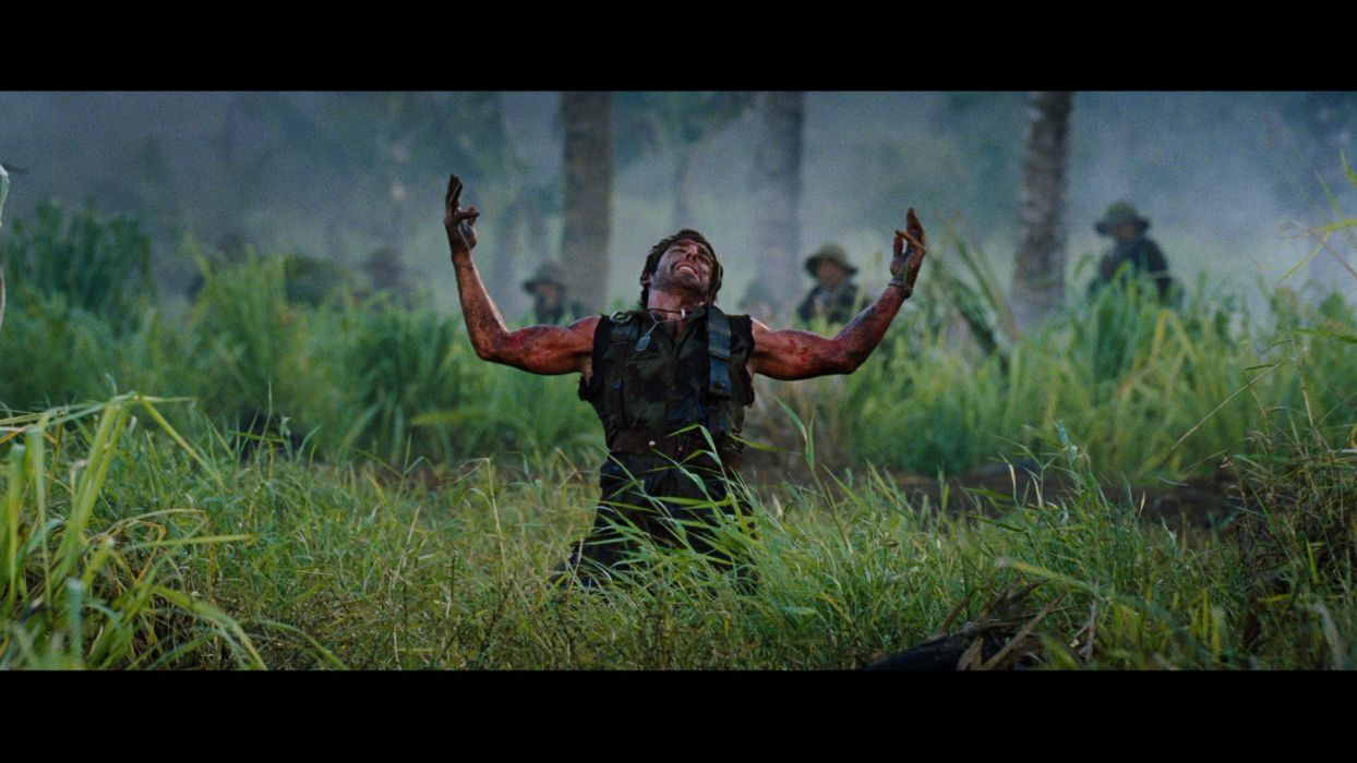 TROPIC THUNDER action comedy military weapon (32) wallpaper