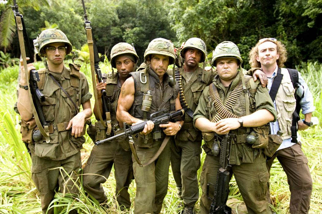 TROPIC THUNDER action comedy military weapon (36) wallpaper