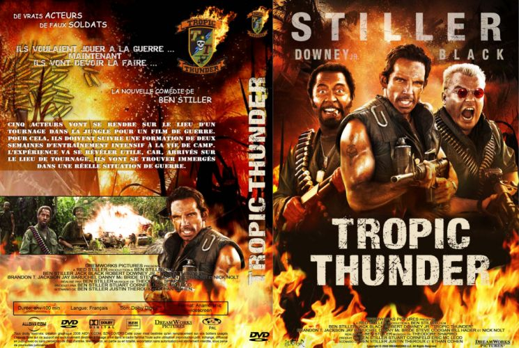 TROPIC THUNDER action comedy military weapon (40) wallpaper