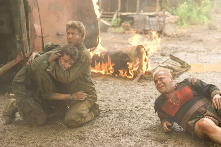 TROPIC THUNDER action comedy military weapon (42) wallpaper