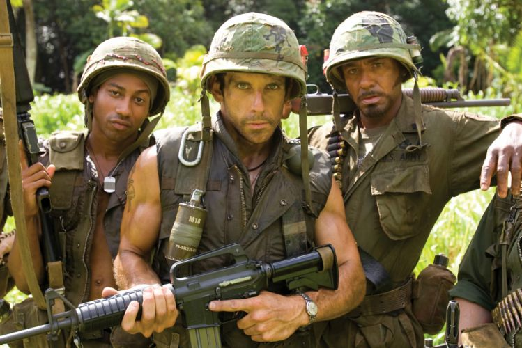 TROPIC THUNDER action comedy military weapon (46) wallpaper