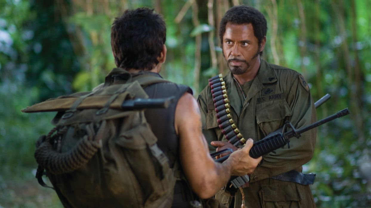 TROPIC THUNDER action comedy military weapon (57) wallpaper