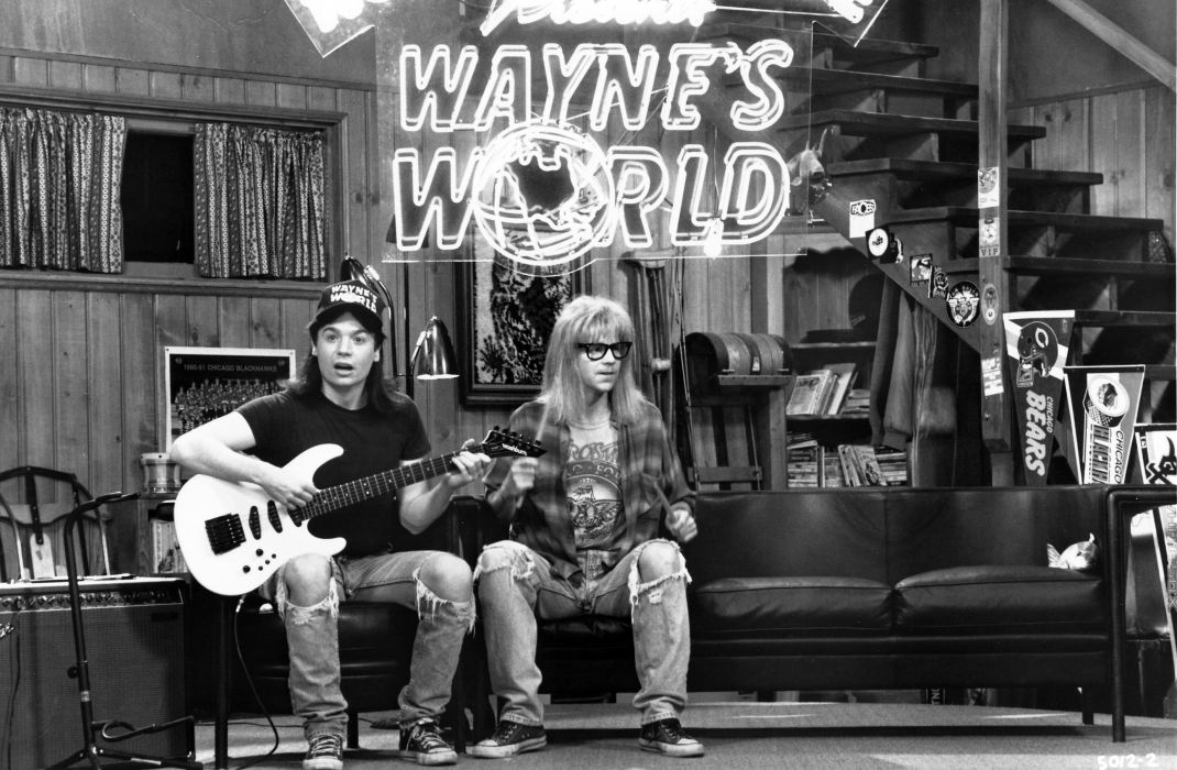 WAYNES-WORLD comedy heavy metal movie waynes world (1) wallpaper
