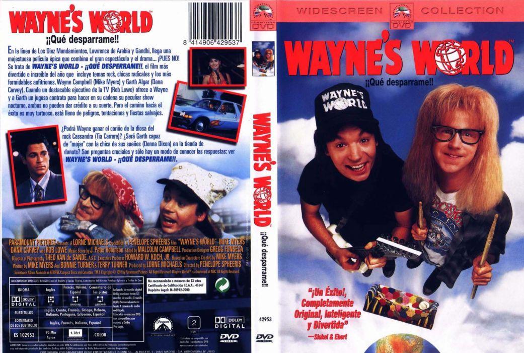 WAYNES-WORLD comedy heavy metal movie waynes world (8) wallpaper