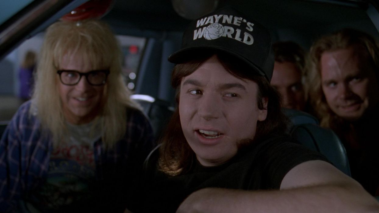 Waynes World Comedy Heavy Metal Movie Waynes World 18