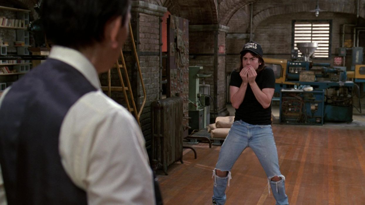 WAYNES-WORLD comedy heavy metal movie waynes world (22) wallpaper