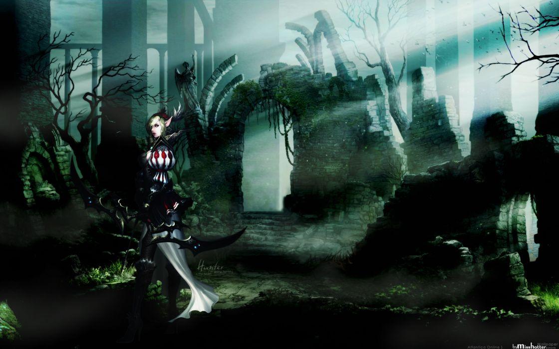 ATLANTICA ONLINE fantasy adventure anime (13) wallpaper