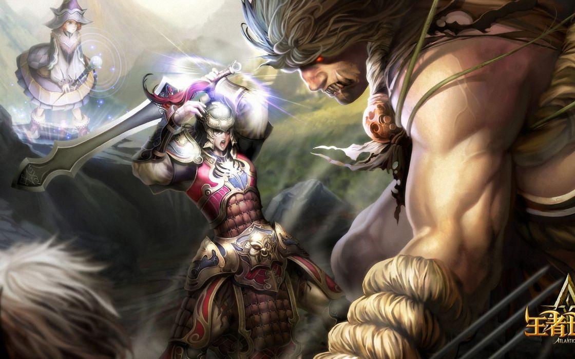 ATLANTICA ONLINE fantasy adventure anime (22) wallpaper