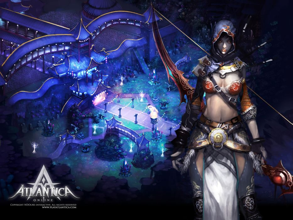 ATLANTICA ONLINE fantasy adventure anime (32) wallpaper