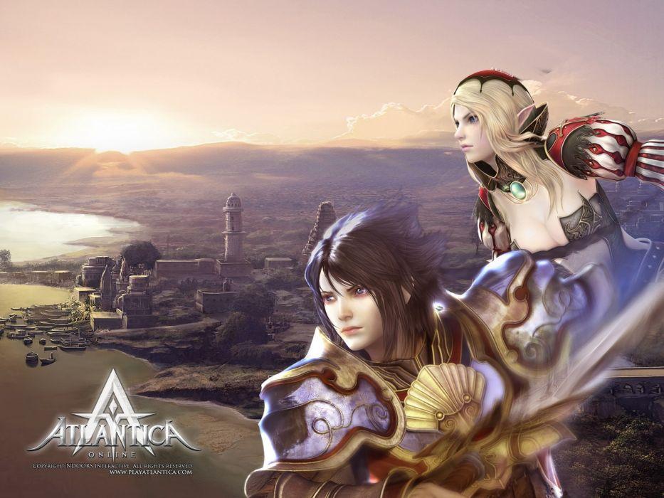 ATLANTICA ONLINE fantasy adventure anime (34) wallpaper