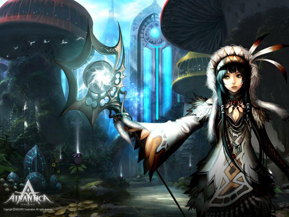 ATLANTICA ONLINE fantasy adventure anime (37) wallpaper