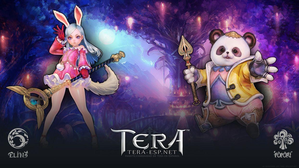 TERA ONLINE fantasy adventure game (6) wallpaper