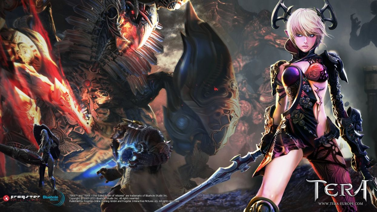 TERA ONLINE fantasy adventure game (11) wallpaper