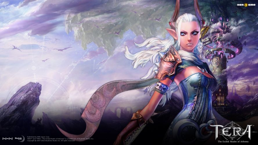 TERA ONLINE fantasy adventure game (12) wallpaper