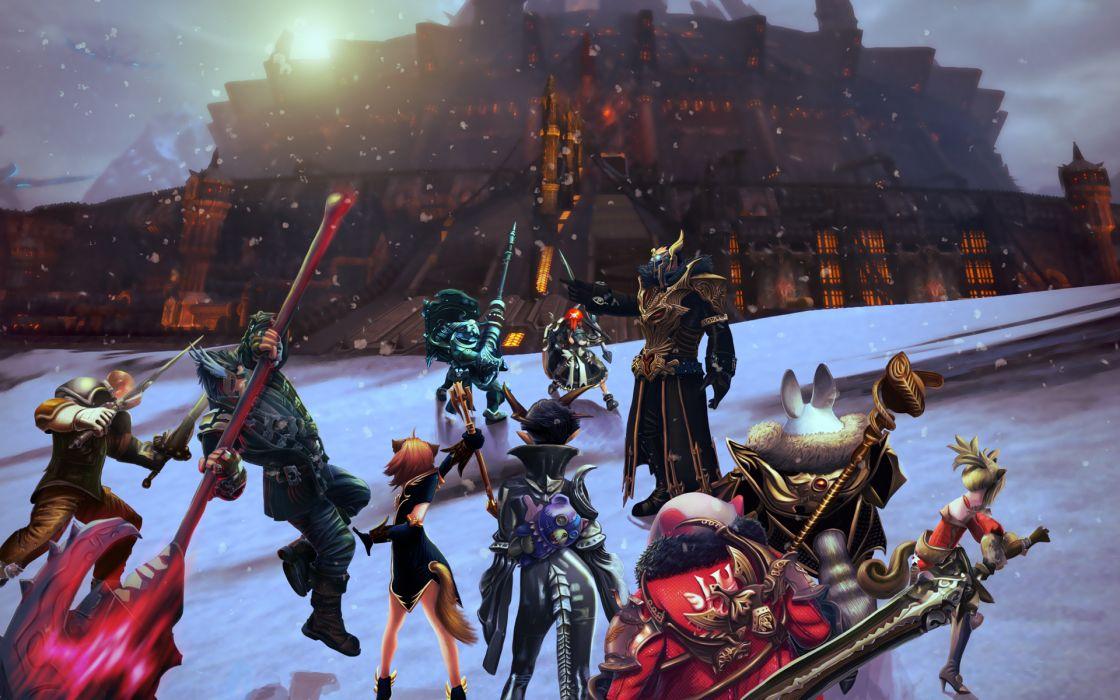 TERA ONLINE fantasy adventure game (44) wallpaper