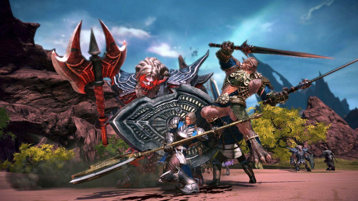 TERA ONLINE fantasy adventure game (63) wallpaper