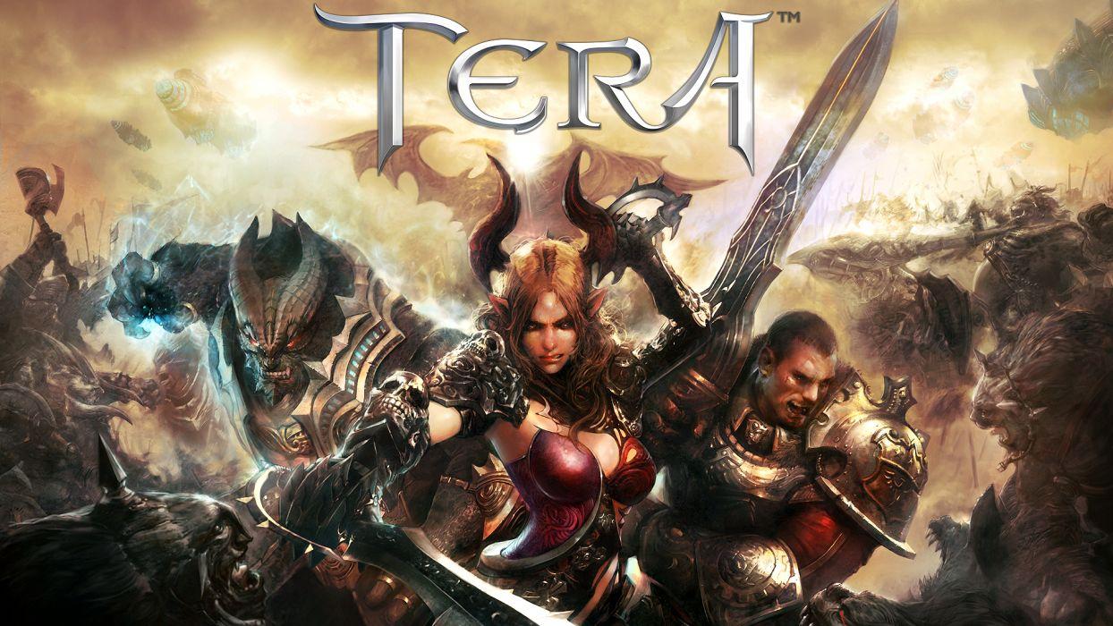TERA ONLINE fantasy adventure game (124) wallpaper