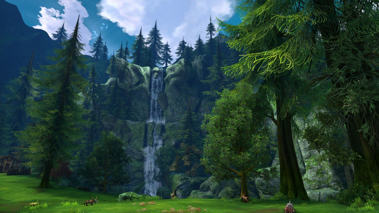 TERA ONLINE fantasy adventure game (176) wallpaper