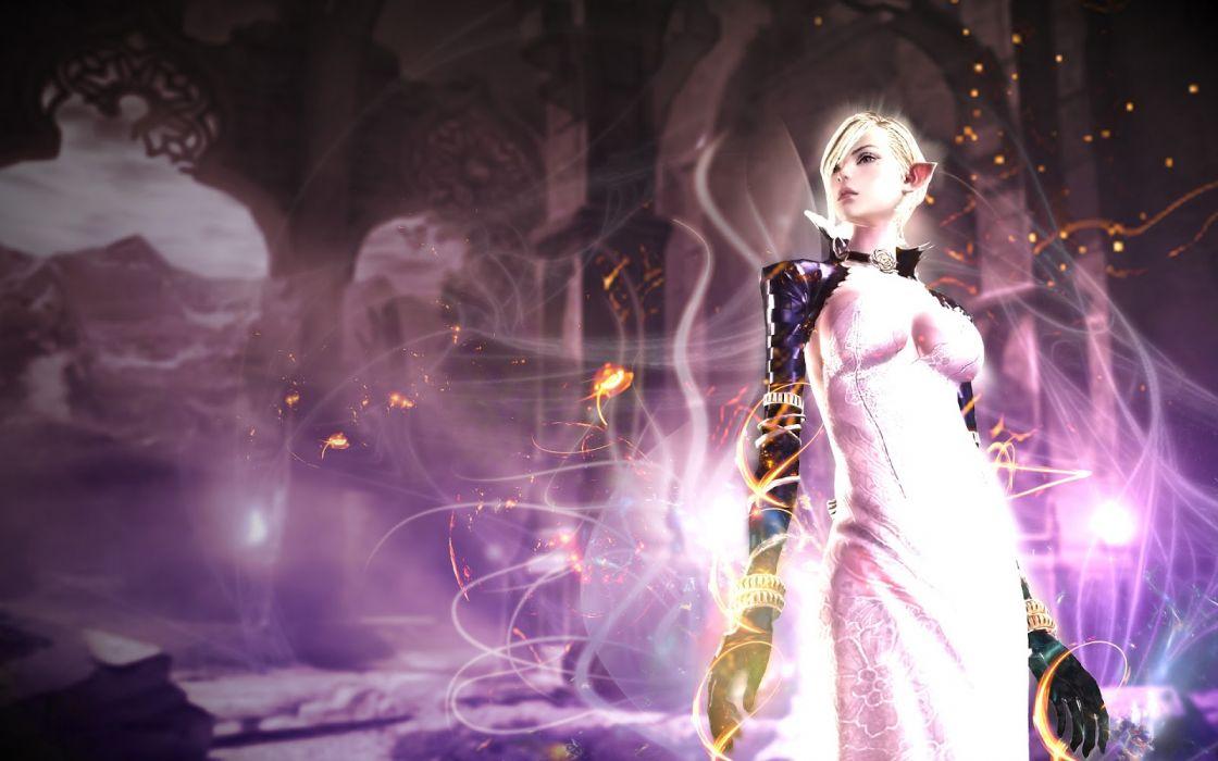 TERA ONLINE fantasy adventure game (206) wallpaper