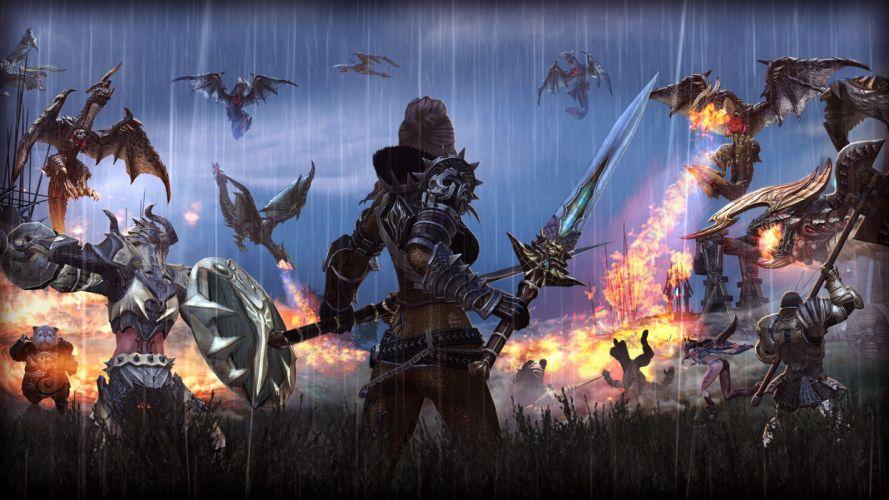 TERA ONLINE fantasy adventure game (209) wallpaper