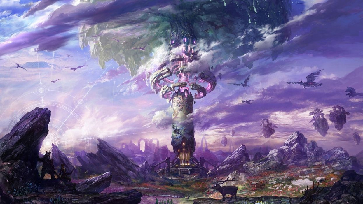 TERA ONLINE fantasy adventure game (212) wallpaper