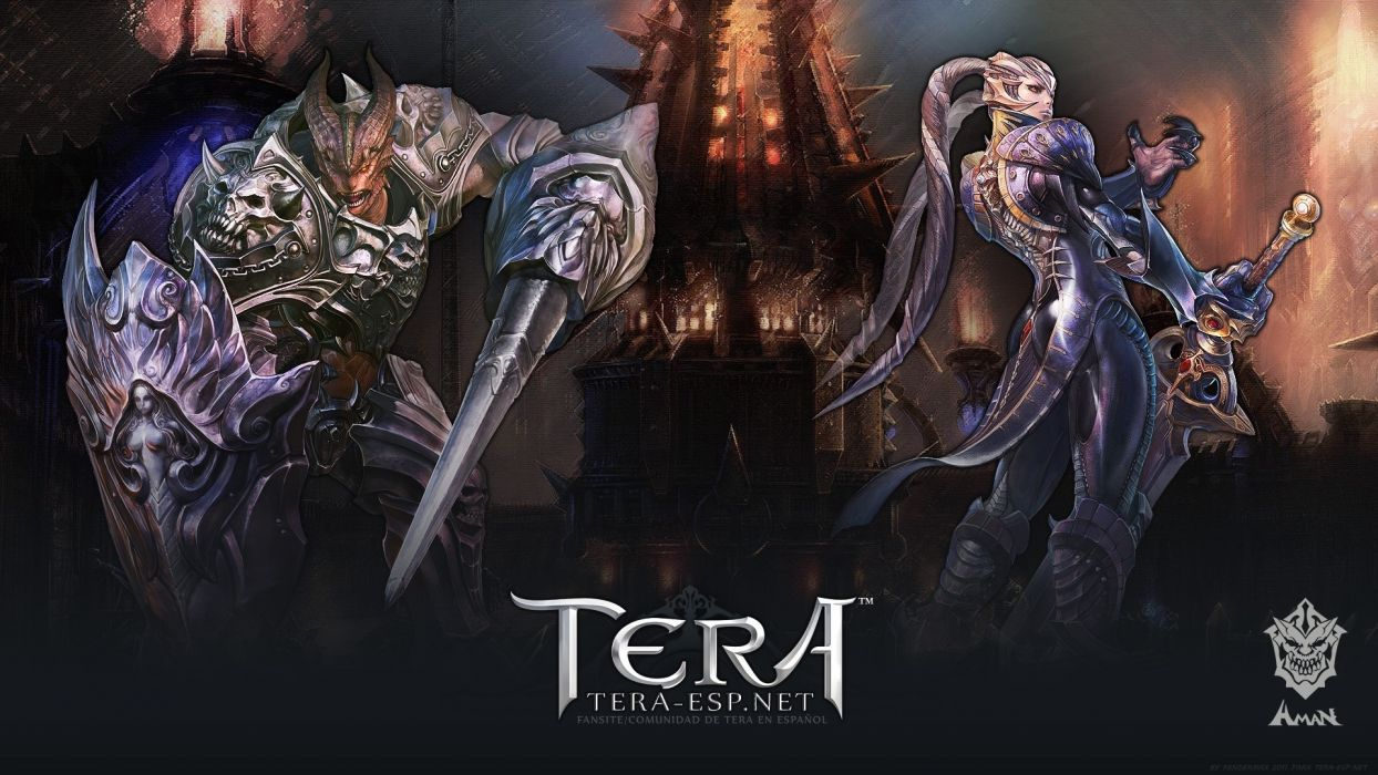 TERA ONLINE fantasy adventure game (213) wallpaper