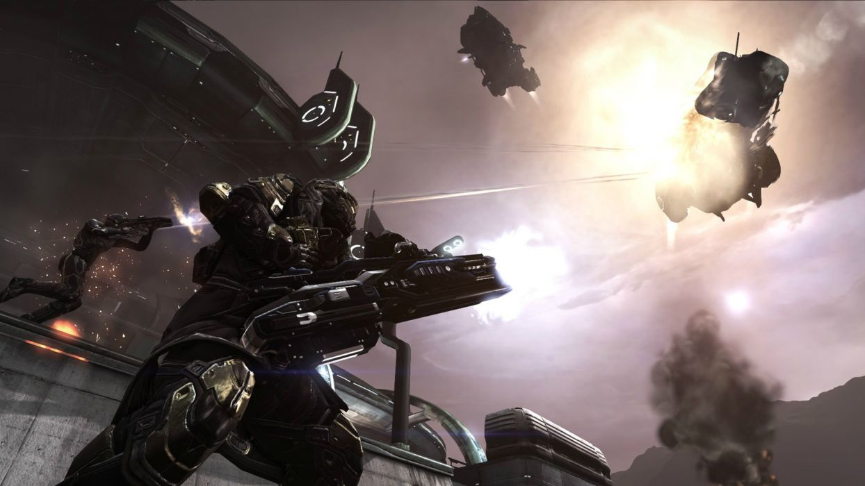 DUST 514 sci-fi action warrior eve weapon (27) wallpaper