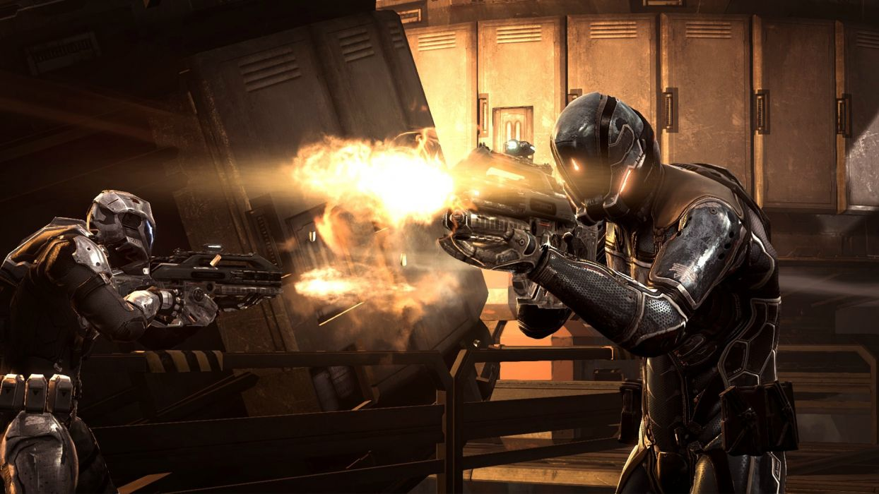 DUST 514 sci-fi action warrior eve weapon (35) wallpaper