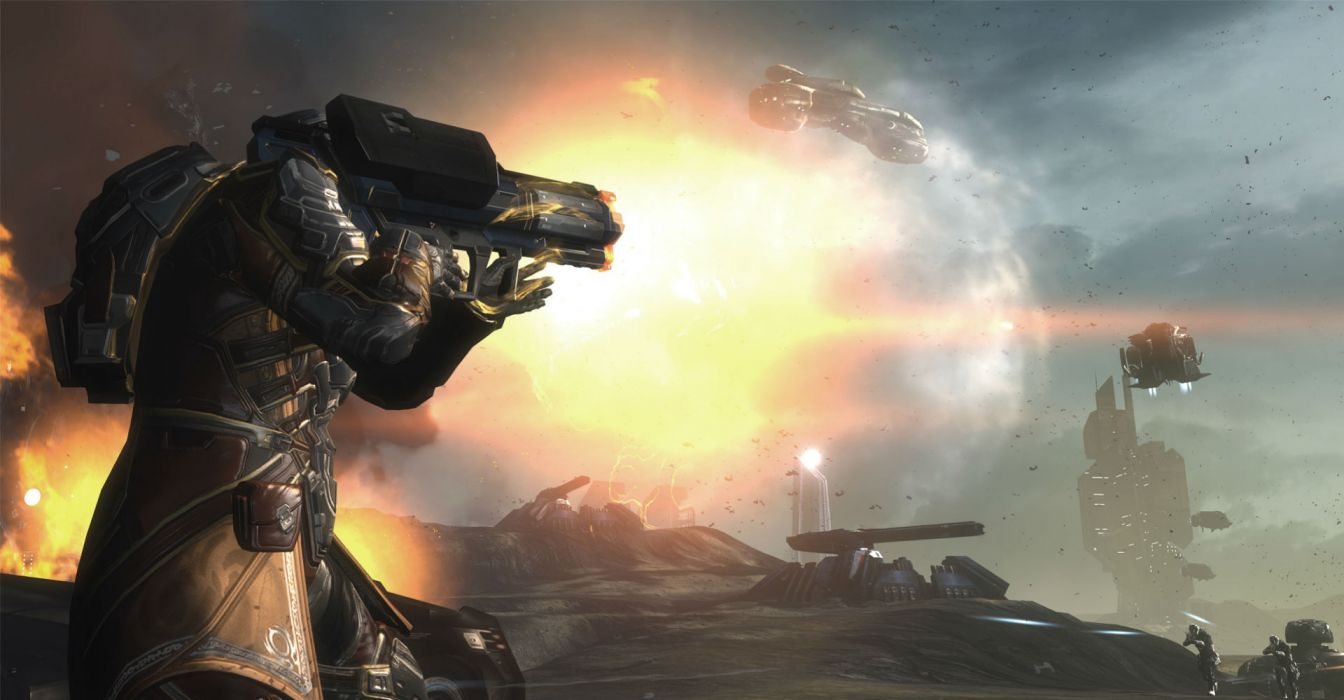 DUST 514 sci-fi action warrior eve weapon (68) wallpaper