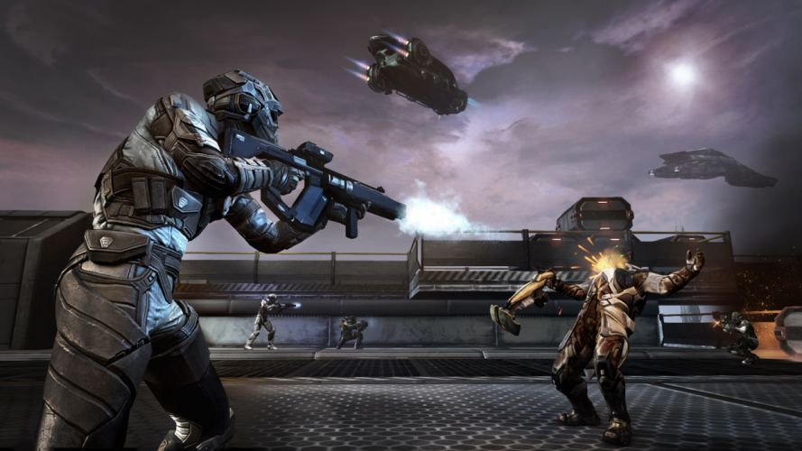 DUST 514 sci-fi action warrior eve weapon (69) wallpaper