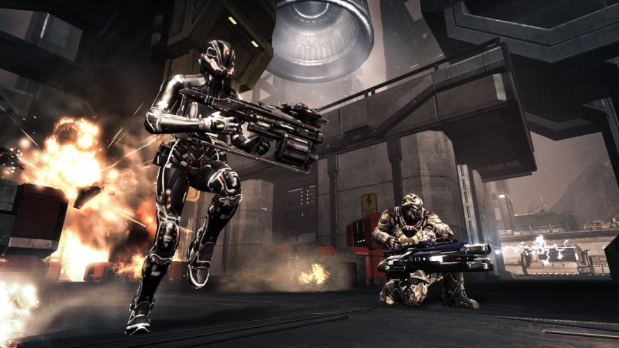 DUST 514 sci-fi action warrior eve weapon (71) wallpaper