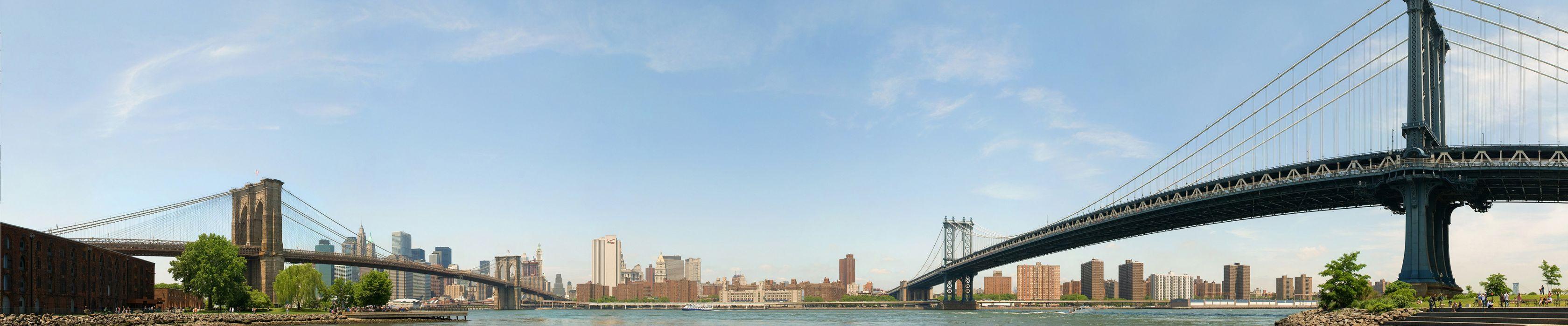 New York Brooklyn Bridge Manhattan wallpaper