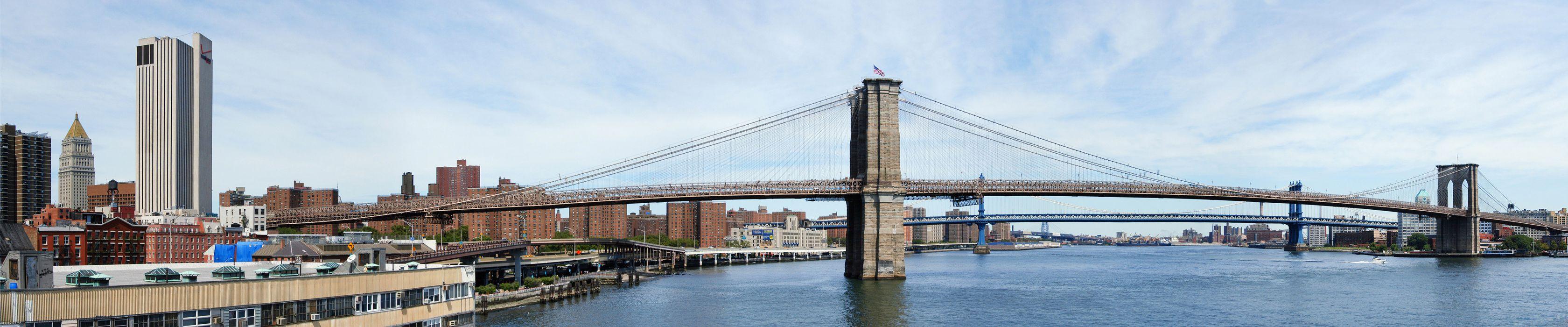 New York Brooklyn Bridge    g wallpaper