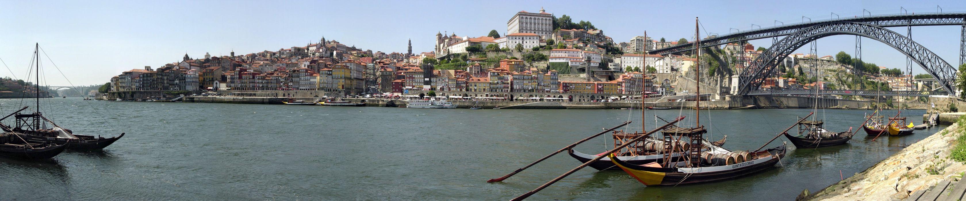 Porto Douro River Portugal boat ship     h wallpaper