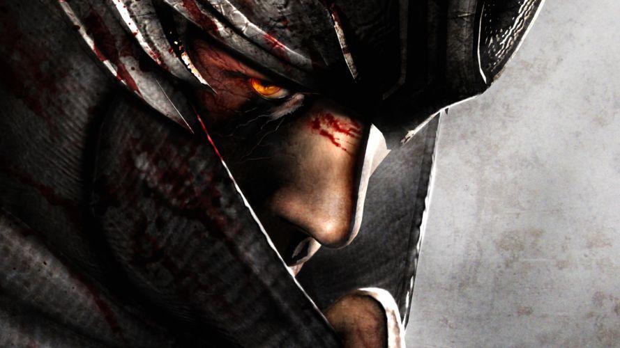 NINJA GAIDEN fantasy anime armor mask blood g wallpaper