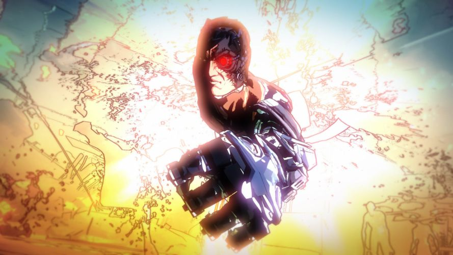 NINJA GAIDEN fantasy anime sci-fi cyborg robot warrior d wallpaper