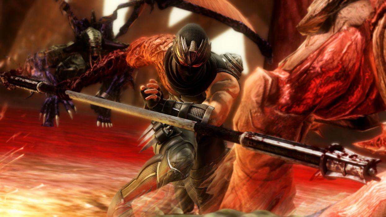 NINJA GAIDEN fantasy anime warrior   f wallpaper