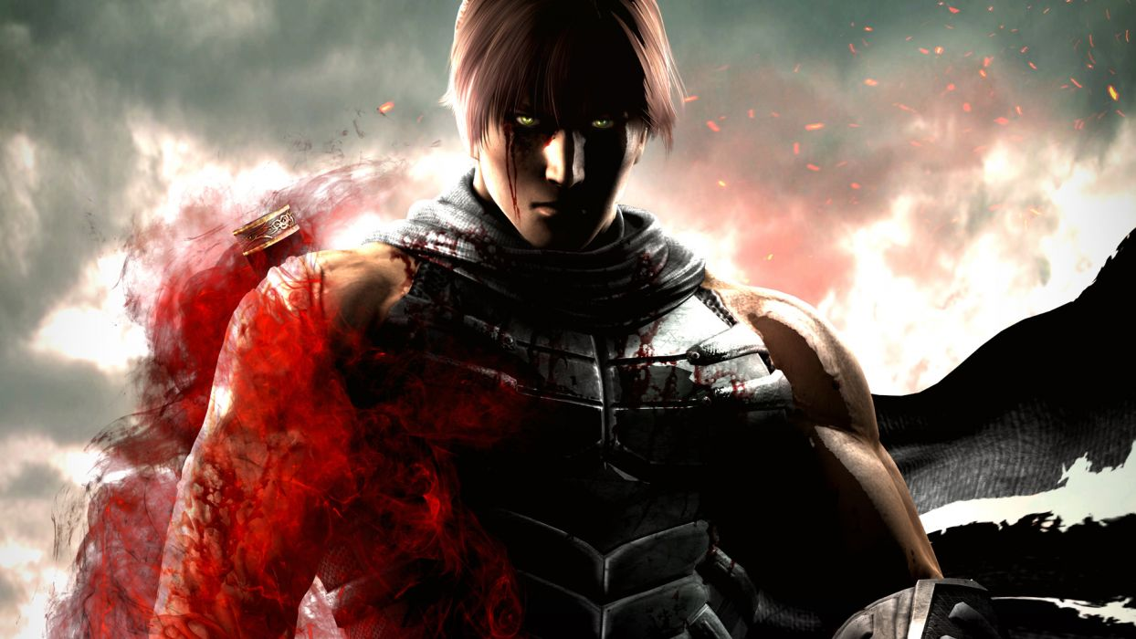 NINJA GAIDEN fantasy anime warrior blood       b wallpaper