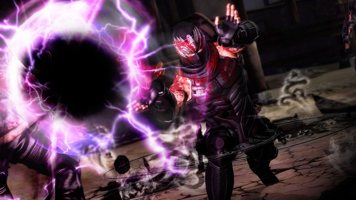 NINJA GAIDEN fantasy anime warrior blood magic     g wallpaper
