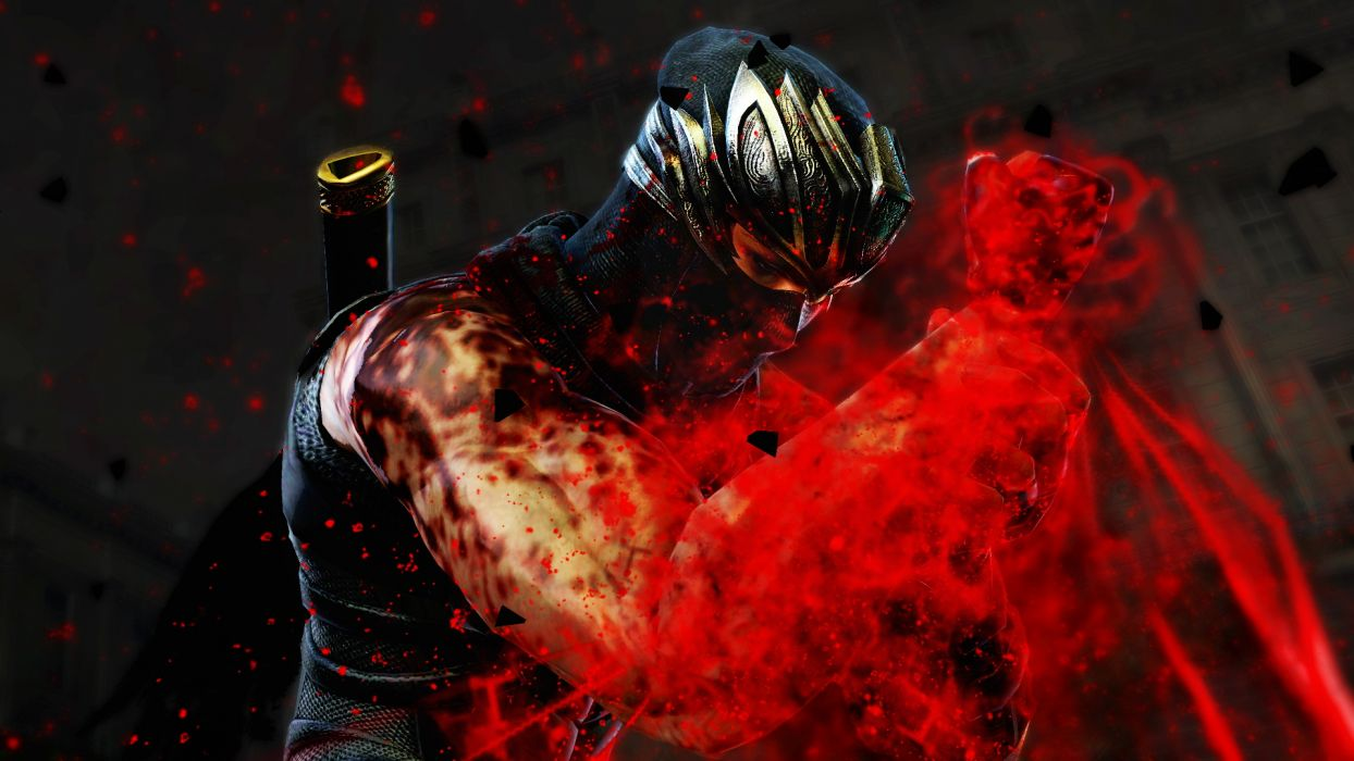 NINJA GAIDEN fantasy anime warrior blood d wallpaper