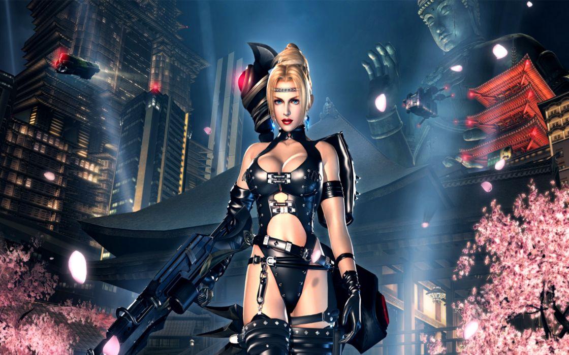 NINJA GAIDEN fantasy anime warrior weapon gun sexy babe       g wallpaper