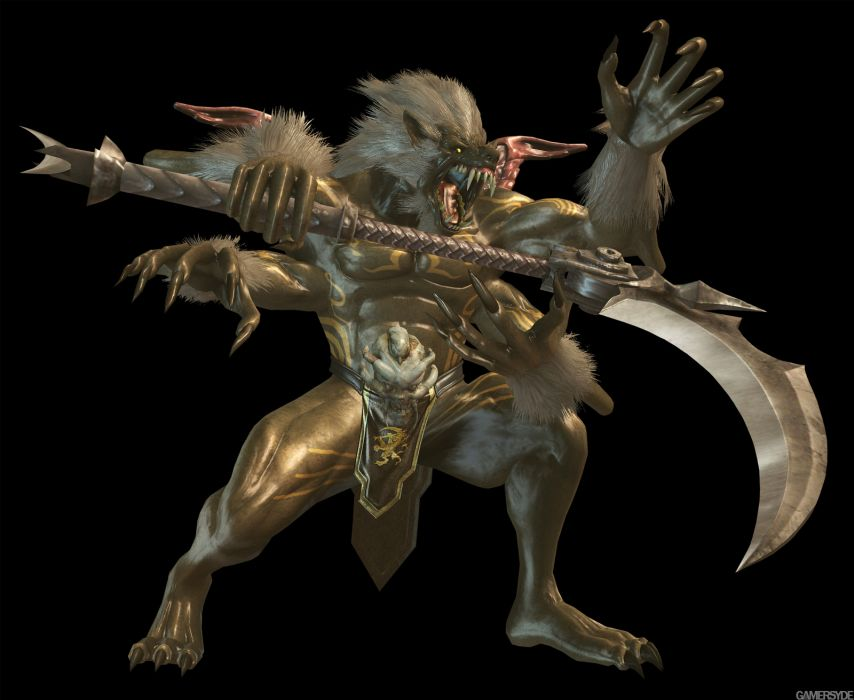 NINJA GAIDEN fantasy anime warrior weapon monster       d wallpaper