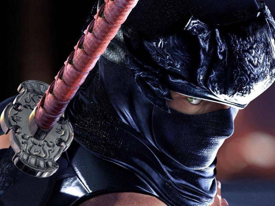 NINJA GAIDEN fantasy anime warrior weapon sword   g wallpaper