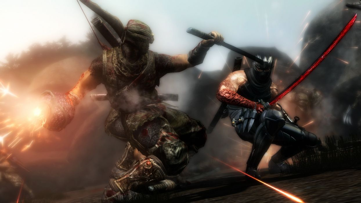 NINJA GAIDEN fantasy anime warrior weapon sword battle       f wallpaper