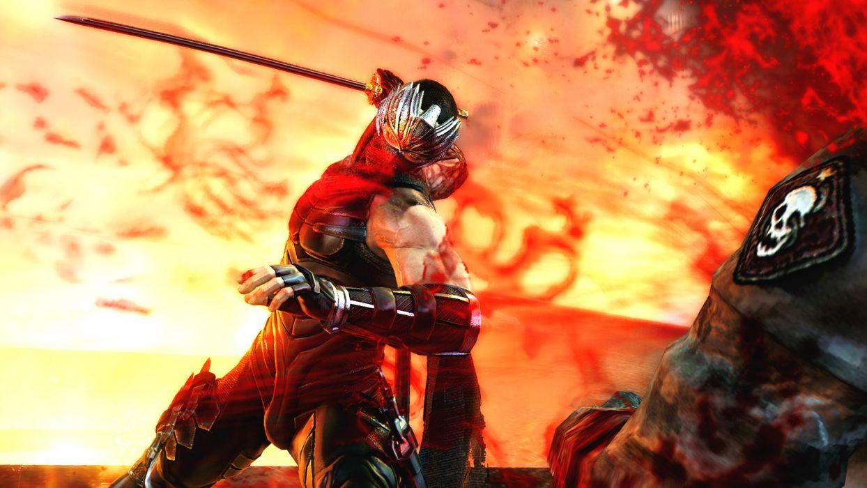 NINJA GAIDEN fantasy anime warrior weapon sword battle       j wallpaper