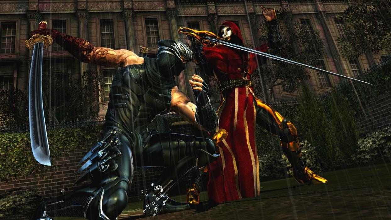 NINJA GAIDEN fantasy anime warrior weapon sword battle     b wallpaper