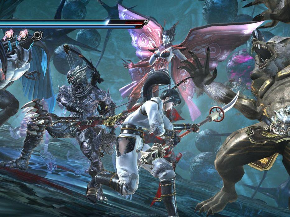 NINJA GAIDEN fantasy anime warrior weapon sword battle    g wallpaper