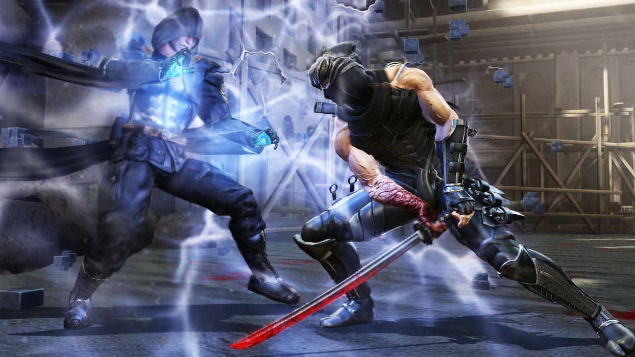 NINJA GAIDEN fantasy anime warrior weapon sword battle   d wallpaper