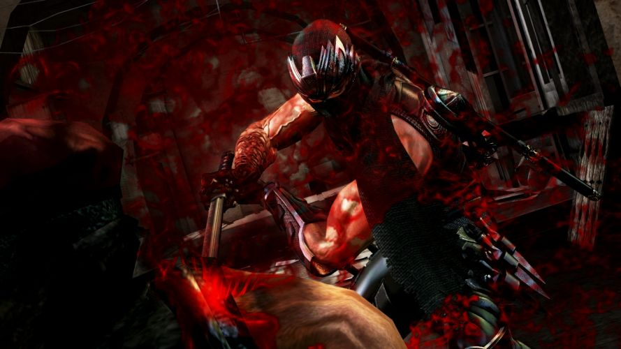 NINJA GAIDEN fantasy anime warrior weapon sword battle blood f wallpaper