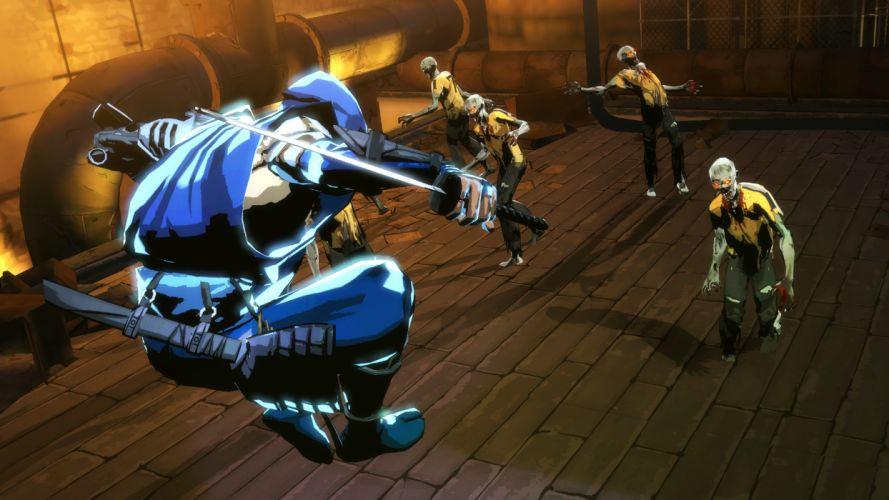 NINJA GAIDEN fantasy anime warrior weapon sword battle dark zombie d wallpaper